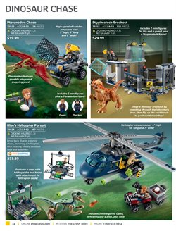 Dinosaurs deals in the LEGO weekly ad in Kansas City MO