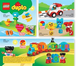 Puzzle deals in the LEGO weekly ad in New York