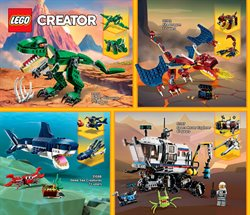 Dinosaurs deals in LEGO