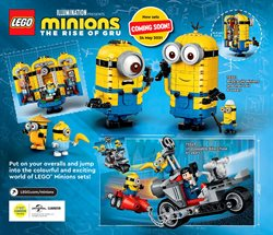 Minions deals in LEGO