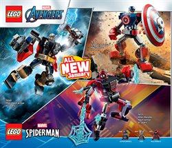 Captain America deals in LEGO
