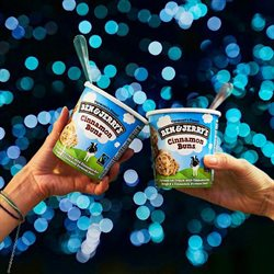 Ben & Jerry's deals in the New York weekly ad