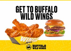 Restaurants deals in the Buffalo Wild Wings weekly ad in Van Nuys CA