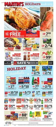 Martin's deals in the Hagerstown MD weekly ad