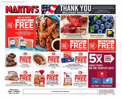 Martin's deals in the Indiana PA weekly ad