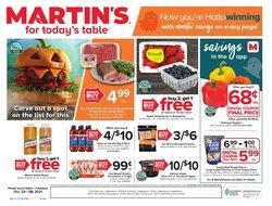 Martin's deals in the Martin's catalog ( 4 days left)