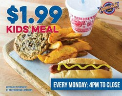 Restaurants deals in the Fuddruckers catalog ( More than a month)