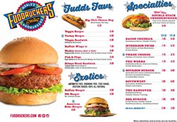 Pizza deals in the Fuddruckers weekly ad in Centreville VA