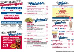 Candy deals in the Fuddruckers weekly ad in Sterling VA