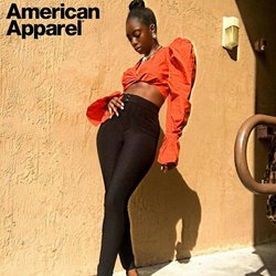 American Apparel deals in the American Apparel catalog ( 30 days left)
