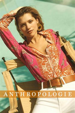 Anthropologie deals in the New York weekly ad