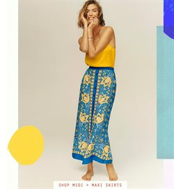 Skirt deals in the Anthropologie weekly ad in Daly City CA