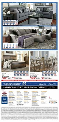 Rug deals in the Ashley Furniture weekly ad in New York
