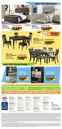 Bed deals in the Ashley Furniture weekly ad in Newark DE