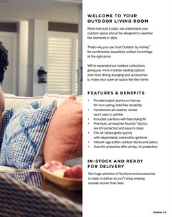 Cushions deals in the Ashley Furniture weekly ad in New York