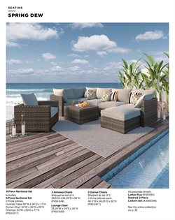 Chairs deals in the Ashley Furniture weekly ad in Charleston WV