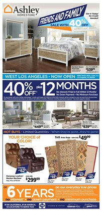Home & Furniture deals in the Ashley Furniture weekly ad in Dover DE