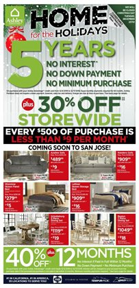 Home & Furniture deals in the Ashley Furniture weekly ad in Mission TX