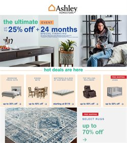 Home & Furniture offers in the Ashley Furniture catalogue in Chicago IL ( 7 days left )