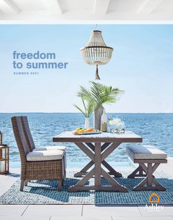 Home & Furniture deals in the Ashley Furniture catalog ( More than a month)