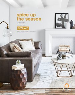 Home & Furniture deals in the Ashley Furniture catalog ( 2 days left)