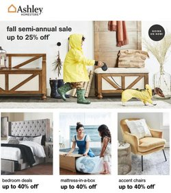 Home & Furniture deals in the Ashley Furniture catalog ( 11 days left)