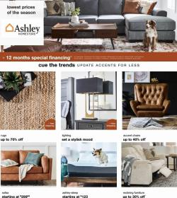 Home & Furniture deals in the Ashley Furniture catalog ( Published today)