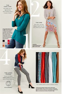 Dress deals in the Chico's weekly ad in Montebello CA