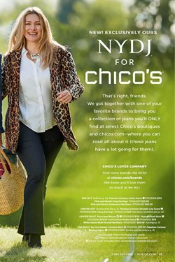 Chico's deals in the Costa Mesa CA weekly ad