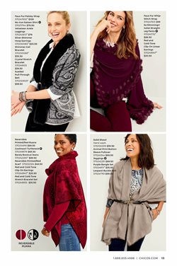 Scarf deals in the Chico's weekly ad in Charleston WV
