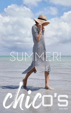 Clothing & Apparel deals in the Chico's catalog ( Expires tomorrow)