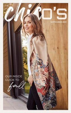 Clothing & Apparel deals in the Chico's catalog ( 4 days left)