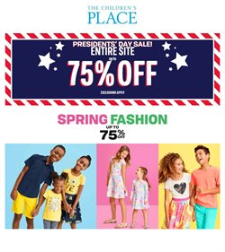 Clothing & Apparel offers in the The Children's Place catalogue in Elyria OH ( Expires tomorrow )