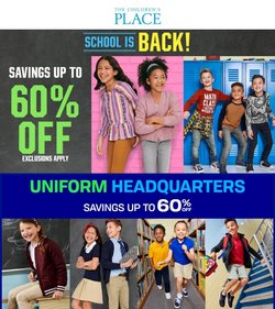 Clothing & Apparel deals in the The Children's Place catalog ( 1 day ago)