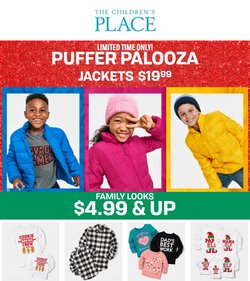 Clothing & Apparel deals in the The Children's Place catalog ( 2 days left)
