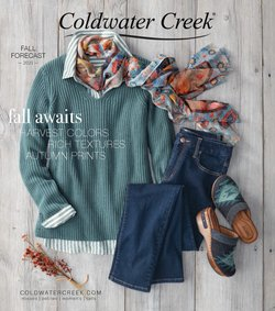 Coldwater Creek deals in the Coldwater Creek catalog ( Expires today)