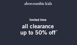 Abercrombie Kids coupon in El Cajon CA ( 19 days left )