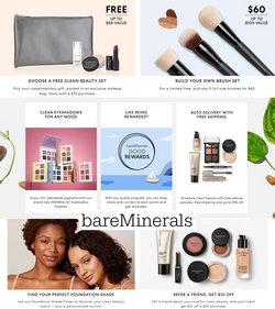 Beauty & Personal Care deals in the bareMinerals catalog ( 6 days left)