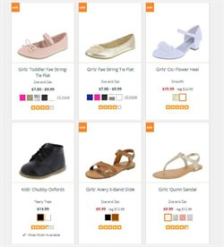 Women's shoes deals in the Payless weekly ad in New York