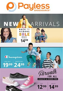 Clothing & Apparel deals in the Payless weekly ad in Hot Springs National Park AR