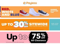 Payless deals in the Payless catalog ( Expires tomorrow)