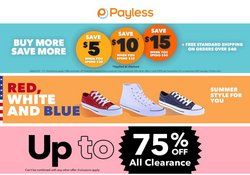 Clothing & Apparel deals in the Payless catalog ( Published today)