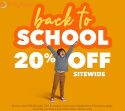 Clothing & Apparel deals in the Payless catalog ( Expires today)