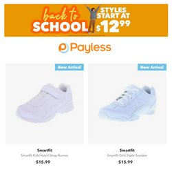 Clothing & Apparel deals in the Payless catalog ( 1 day ago)