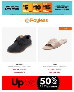Payless catalog ( Published today)
