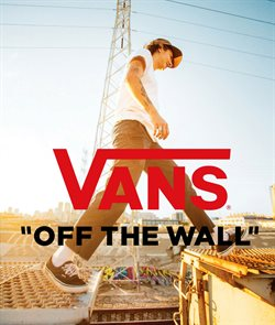Vans Store catalogue ( 1 day ago )