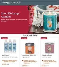Gifts & Crafts deals in the Yankee Candle catalog ( Expires today)