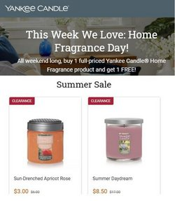 Gifts & Crafts deals in the Yankee Candle catalog ( 12 days left)