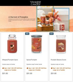 Gifts & Crafts deals in the Yankee Candle catalog ( 9 days left)