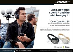 Headphones deals in the Bose weekly ad in New York